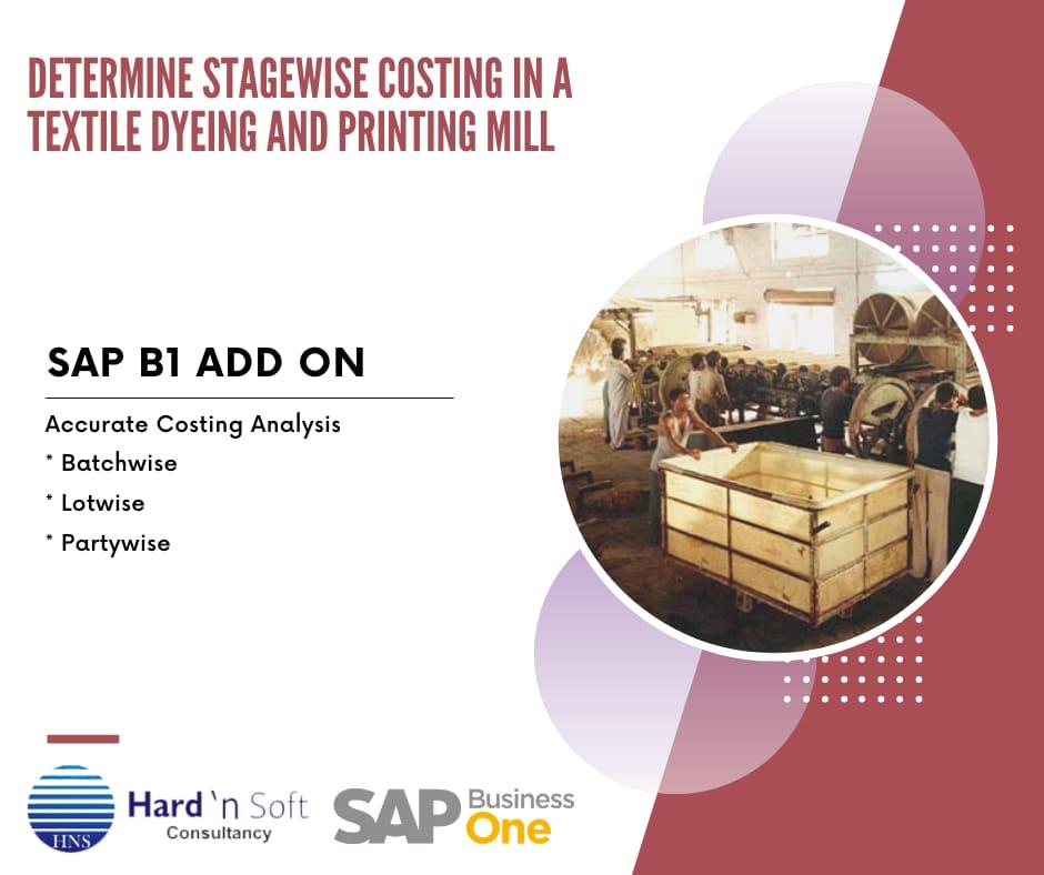 sap b1 case study - costing